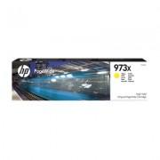 HP Cartucho amarillo original PageWide HP 973X de alto rendimiento