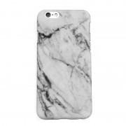 39 Marble cover for iPhone 7 Plus, vit, svart eller röd Rød