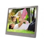 """Hama Digital fotoram 25.4 cm 10 """" Hama 95276 1024 x 768 pixel 4 GB Silver"""