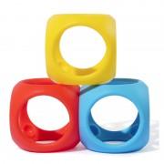 Oibo - set 3 jucarii senzoriale flexibile