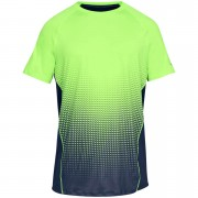 Under Armour Men's MK1 Dash Fade T-Shirt - Green - M - Green