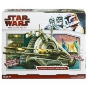 Star Wars Clone Wars Star Fighter Vehicle - Corporate Alliance Tank Droid