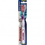 Pepsodent White System Medium Tandbørste 1 stk Toothbrush