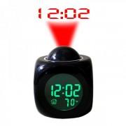 Ceas cu Proiectie si Lumina prin Apasare pe Baterii CJ2028