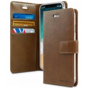 Mercury Pouzdro / kryt pro iPhone XS MAX - Mercury, Bluemoon Diary Brown