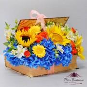 Carte cu flori Sun Flowers CTF031