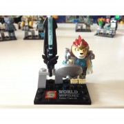 8 Unids/set Bloque Chima Ladrillos De Construcción Sets New Super Hero Figura Caliente Juguete De Aprendizaje
