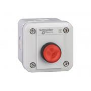 Statie control XAL-E - 1 buton proiect. - revenire cu arc - rosu - 1 NC - O