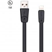 HOCO X9 8 Micro USB TPE Cable de Transferencia de (Negro)