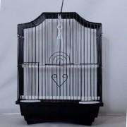 Max 103če Klec černá pro ptáky na papoušky 290 x 220 x 370 mm