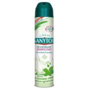 Odorizant dezinfectant aer, suprafete, textile 300 ml menta Sanytol