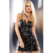Biker dress sukienka (czarny)