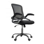 Kancelarijska stolica CRISS od mesh platna - Crna