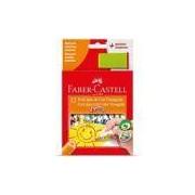 Ecolápis de cor triangular Jumbo 12 cores Faber Castell