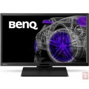 "23.8"" BENQ BL2420PT, IPS LED, 16:9, 2560x1440, 5ms, 300cd/m2, 1000:1, Speaker, pivot, VGA/DVI/HDMI/DP"