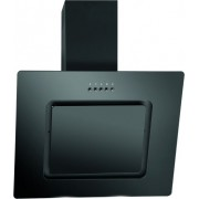 Kopffreihaube Glasschirm DU 770 G, schwarz, 60 cm, B, LED, schwarz (Vollglas) - 777000