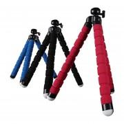 Tripie Flexible para celular y para camaras digital convencional o Camara de video de bolsillo Negro