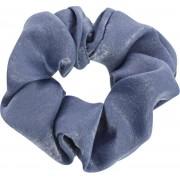 Lucardi Diversen - Blauwe scrunchie satijn look