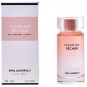 Karl lagerfeld fleur de pecher 100 ml eau de parfum edp profumo donna