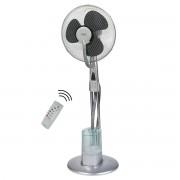 AEG VL 5569 LB - Ventilador de pie oscilante con nebulizador de agua (40cm diametro, velocidad variable, mando a distancia)