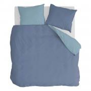 Byrklund Side Way Dekbedovertrek - Lits-jumeaux (240x200/220 Cm + 2 Slopen) - Katoen - Donker Blauw/blauw