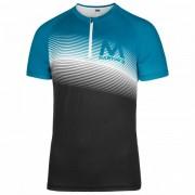 Martini - Re.Active - T-shirt technique taille XXL, noir/bleu