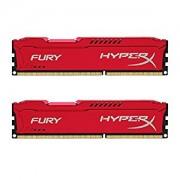 Kingston HyperX Fury Red 16GB (2x8GB) DDR3 PC3-14900C10 1866MHz Dual Channel Kit (HX318C10FRK2/16)