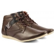 Golden Sparrow Brown Casual Casuals For Men(Brown)