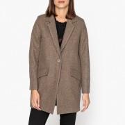 Manteau mi-long laine mélangée HELLO DOL
