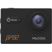 Akciona kamera MGCOOL Explorer Pro 2, 4K, WiFi, Crna