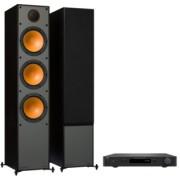 Pachete PROMO STEREO - Monitor Audio - Monitor 300 + NAD C 338 White