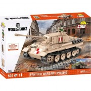 Set de construit Cobi, World of tanks, PZKPFW V PANTHER W (510pcs)