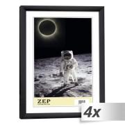 4x1 ZEP New Easy black 10x15 Plastic Frame KB1