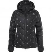 Bogner Fire + Ice Women Down Jacket SASSY 2 black print