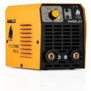 Aparat de sudura invertor IWELD Gorilla Pocketpower 170 putere 160A electrozi 1.6-3.2 cu accesorii incluse 3kg