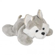 Wildlife Tree 3.5 Wolf Husky Mini Small Stuffed Animals Bulk Bundle Of Zoo Animal Toys Or Forest Party Favors For Kids Pack 12