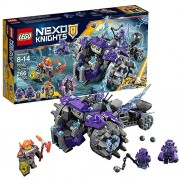 Nexo Knights Lego Year 2017 Nexo Knights Series Set #70350 - THE THREE BROTHERS with Monster Vehicle Axl Roog and Reex Minifigures