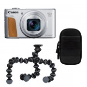 Canon Powershot SX740 HS compact camera Zilver Travel Kit