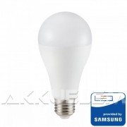 V-TAC Opál 15W 1250lm 3000K LED-izzó SAMSUNG chipes