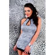schwarz-weisses Kleid Acanta