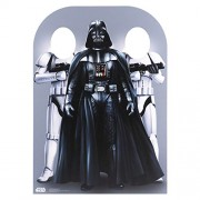 Star Cutouts Ltd Wars Darth Vader and Stormtrooper Child Size Party Photo Stand In