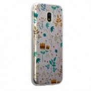 Husa Silicon Transparent Slim Spirng Flowers Huawei Honor 5X GR5