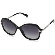 Polaroid 4068-S Gafas de Sol para Mujer, Black, 55 mm