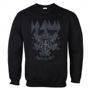 sweat-shirt sans capuche pour hommes Def Leppard - Sheffield 1977 - LOW FREQUENCY - DLSW08036