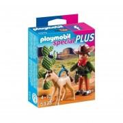 Playmobil Special Plus - Cowboy Con Potrillo - 5373