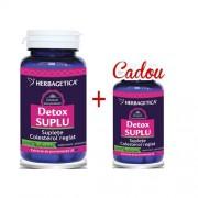 Pachet Detox Suplu 60+10cps Herbagetica