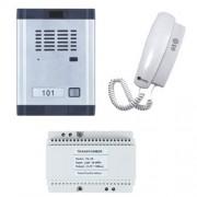 Set interfon audio Genway WL-06Dd2D, 1 familie, ingropat, vila