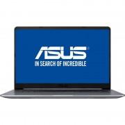 "Notebook VivoBook S15 S510UN-BQ178 15.6"" FHD i5-8250U 4GB 1TB GeForce MX150 2GB Endless OS Metal Grey"