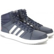 ADIDAS NEO HOOPS VS MID Mid Ankle Sneakers For Men(Navy)
