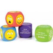Cuburi pentru conversatii Learning Resources EMOJI